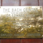 Bach Centre front door sign